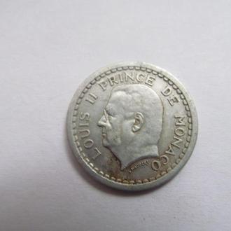 Монако  1  франк  1943  год