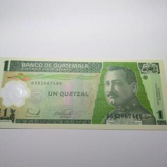 1 кетцаль, Гватемала, Пресс, unc