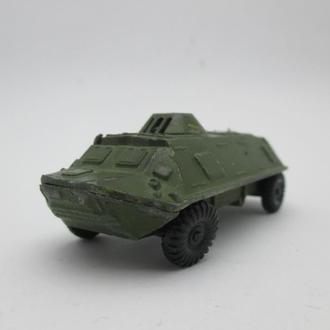 БТР военная техника игрушка СССР №3