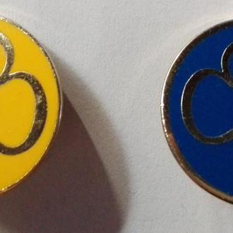 Два значка Trade Mark: Girl Guiding UK, Guide Assoc.