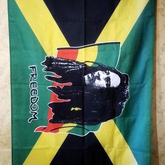 Флаг Ямайки. (155 х 90 см.) 100% полиэстер.