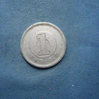 Япония 1 иена 1994 год
