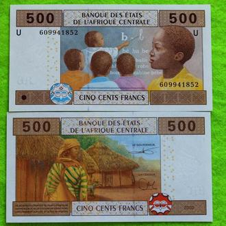 Камерун 500 франков 2002 UNC