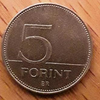 Венгрия 5 форинтов, 2001