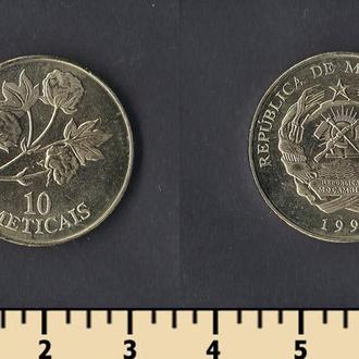 Мозамбик 10 метикалей 1994