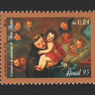 Бразилия - искусство 1995 - Michel Nr. 2648 **