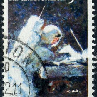 Бельгия. Астронавт. Аполло 15 (серия) 1972 г.
