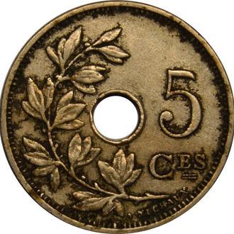 Бельгія 5 centimes 1928