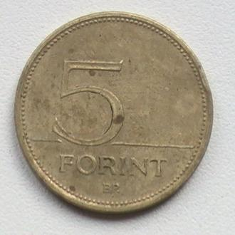 5 Форінт 1994 р Угорщина 5 Форинт 1994 г Венгрия