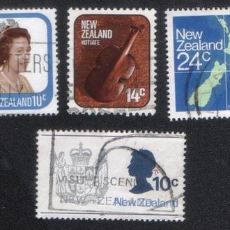 Новая Зеландия. Подборка марок