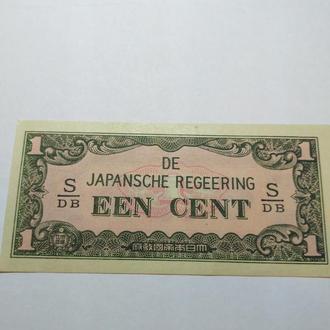1 цент 1942, Нидерландская Индия, Unc, пресс, оригинал