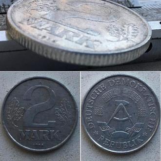 Германия - ГДР 2 марки, 1978г. период Восточная Германия (ГДР) (1948 - 1990)