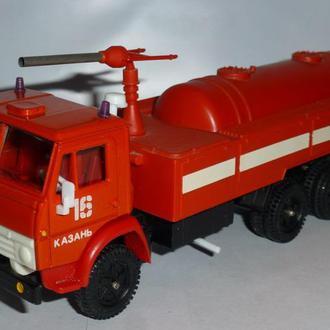 1/43 КАМАЗ-53212 пожарный Казань 16. ЭЛЕКОН (начало 1990-х годов)
