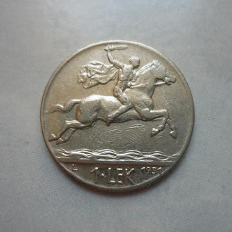 Албания 1 лек 1931 L