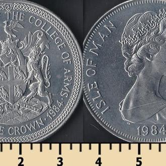 Мэн остров 1 крона 1984