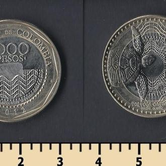КОЛУМБИЯ 1000 ПЕСО 2012