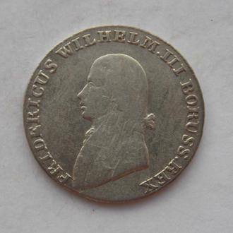 4 гроша 1805 года, А. Пруссия, Фридрих Вильгельм III. Серебро.