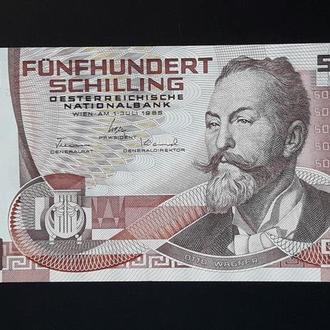 Австрия 500 шиллинг 1985 AU-UNC