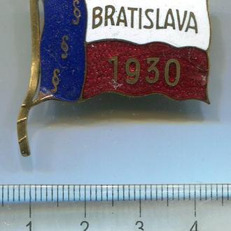 Номерний значок Братіслава 1930 р.