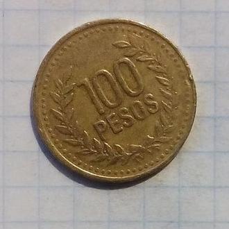 Колумбия 100 песо