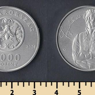 Венгрия 2000 форинтов 2014