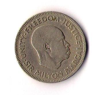 20 центов 1964 г., Сьерра- Леоне.
