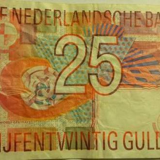 25 гульденів 1989 Нідерланди