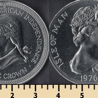 Мэн остров 1 крона 1976