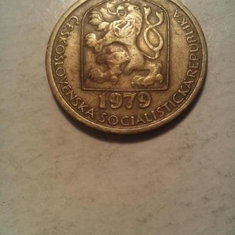 Монета Чехословакии.