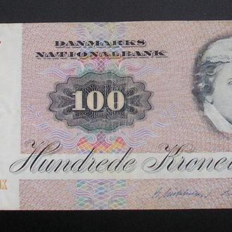 Дания 100 крон 1972