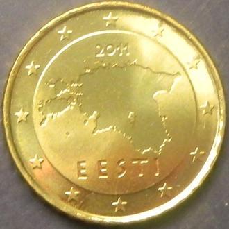10 євроцентів 2011 Естонія UNC