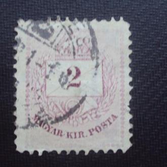 Венгрия 1874-76г. гаш.