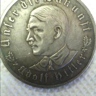 Продам монету 3 Рейха с Гитлером (копия) - 13
