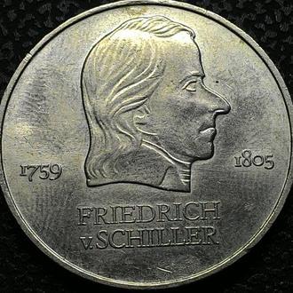 Германия 20 марок 1972 год  Фридрих Шиллер!  ОТЛИЧНАЯ!!!