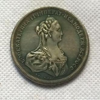 настольная медаль Кагул 1770  Екатерина 2