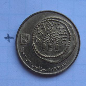 ИЗРАИЛЬ, 5 агорот 1992 года (античная монета).