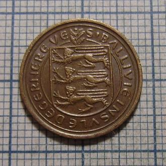 Гернси, 1/2 нового пенни 1971 г.