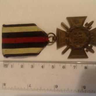 "Крест Гинденбурга с мечами. Клеймо ""R.V. 32 Pforzheim""."