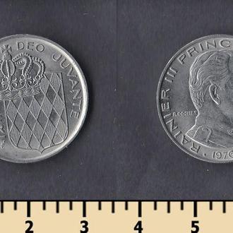 Монако 1 франк 1976