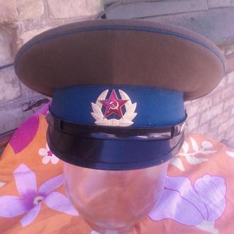 Фуражка парадная солдатская ВВС.