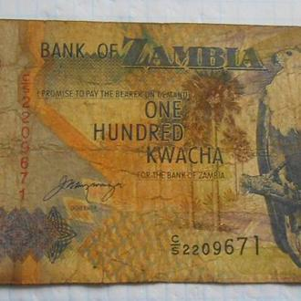 Замбия 100 квач 1992 год