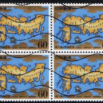 Япония (1985) Карта из средневекового атласа