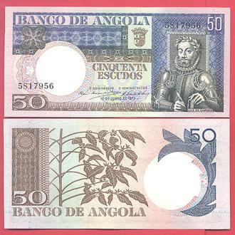 Боны Африка Ангола 50 эскудо 1973 г.