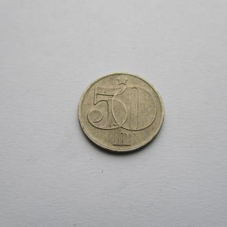50 гелеров  Чехословакия 1978 год