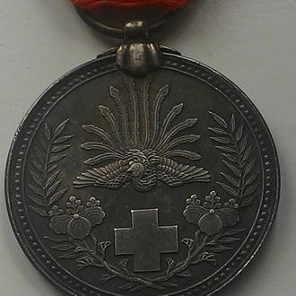 ЯПОНИЯ, медаль 1905 год, СЕРЕБРО!!!!  ОТЛИЧНОЕ СОСТОЯНИЕ!!!