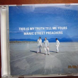 CD Manic Street Preachers  This Is My Truth Tell Me Yours UK Nm Англия