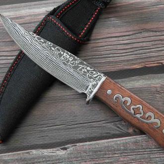 Охотничий нож Дамаск 21.5 cm