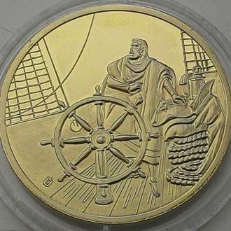 Германия, медаль Титаник!  Нейзильбер.