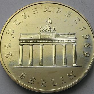 ГДР 20 марок 1990 год Брандербургские ворота! ИДЕАЛЬНОЕ СОСТОЯНИЕ!!!