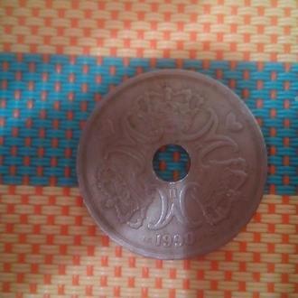 Монета 5 kroner denmark